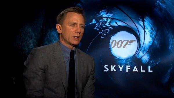 Daniel Craig talks 'Skyfall,' working with Judi Dench