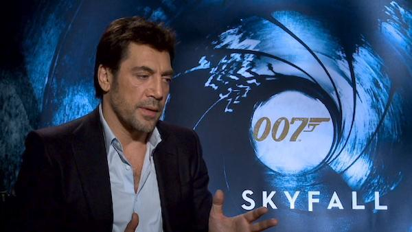 Javier Bardem talks 'Skyfall,' James Bond