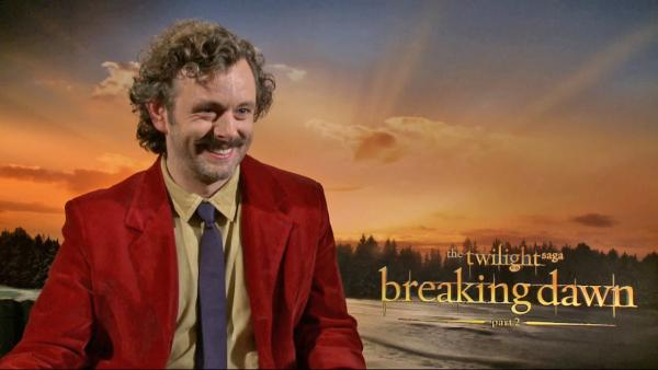 Michael Sheen talks 'Breaking Dawn' director