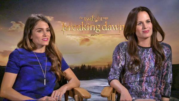 Nikki Reed and Elizabeth Reaser chat 'Breaking Dawn'