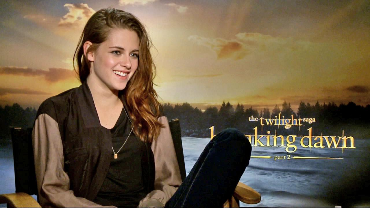 Kristen Stewart talks to OTRC.com on November 5, 2012.
