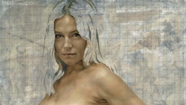 Sienna  Miller appears in a portrait painted by Jonathan Yeo. - Provided courtesy of jonathanyeo.com