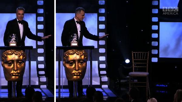 Daniel Day-Lewis re-enacts Clint Eastwood's 'Obama' chair stunt