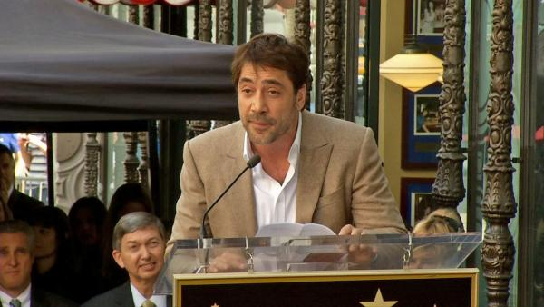 Javier Bardem's Walk of Fame speech