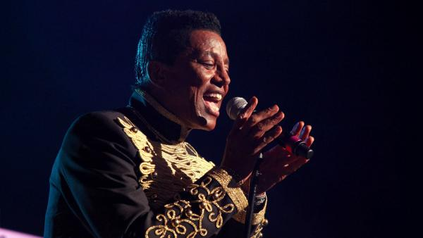 In this June 22, 2012 file photo, Jermaine Jackson performs with The Jacksons on their Unity Tour 2012 at Star Plaza in Merrillville, IN. - Provided courtesy of Barry Brecheisen/Invision/AP, File