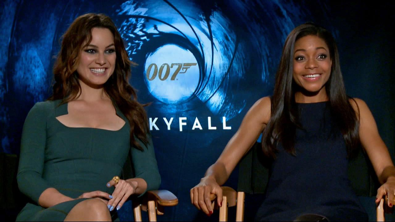 Berenice Marlohe and Naomie Harris talk to OTRC.com about Skyfall on November 7, 2012.