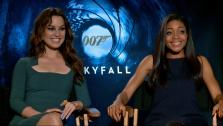 Berenice Marlohe and Naomie Harris talk to OTRC.com about Skyfall on November 7, 2012. - Provided courtesy of OTRC