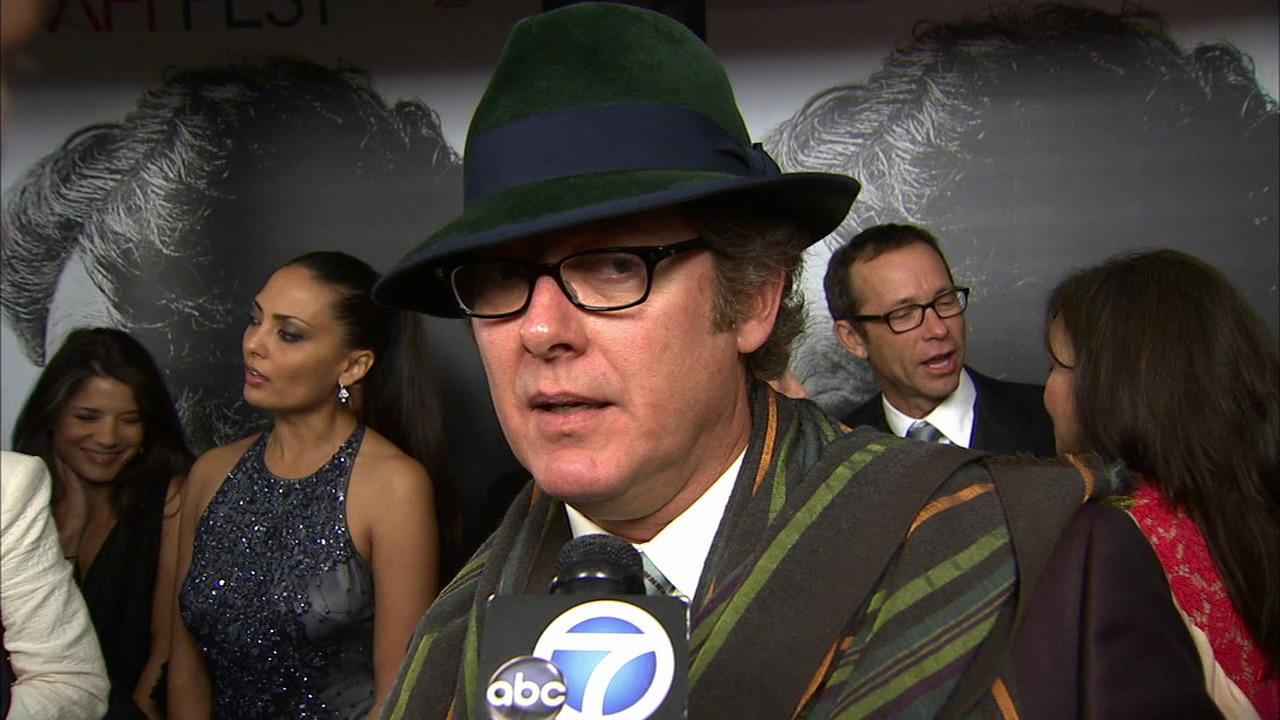 James Spader talks to OTRC.com at the premiere of Lincoln at Graumans Chinese Theatre during AFI Fest in Hollywood on Nov. 8, 2012.