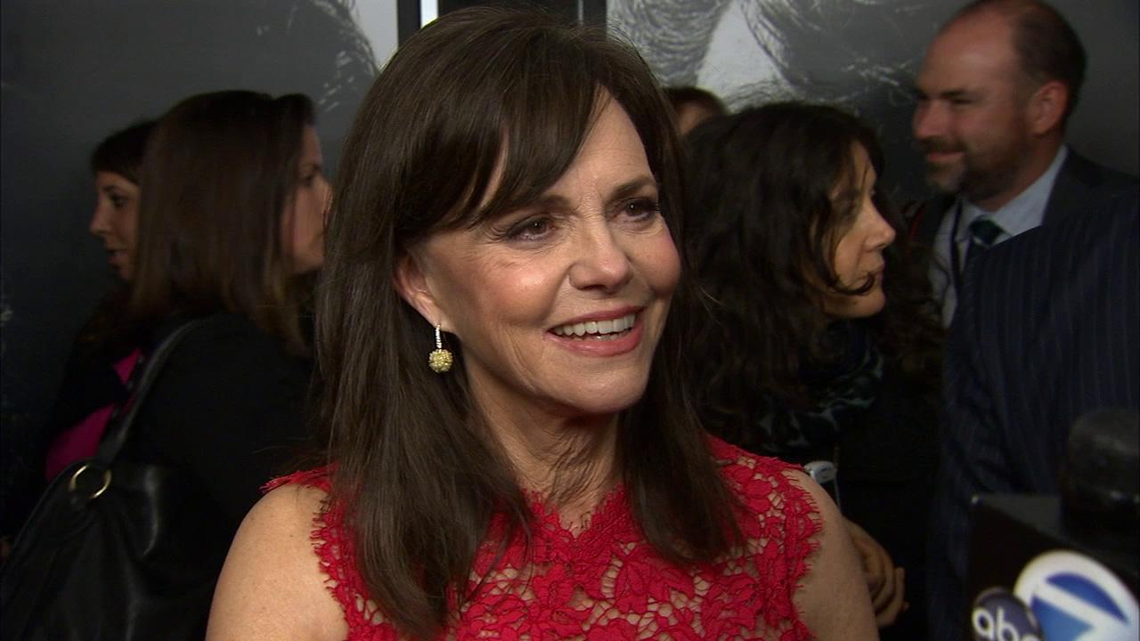 Sally Field talks to OTRC.com at the premiere of Lincoln at Graumans Chinese Theatre during AFI Fest in Hollywood on Nov. 8, 2012.