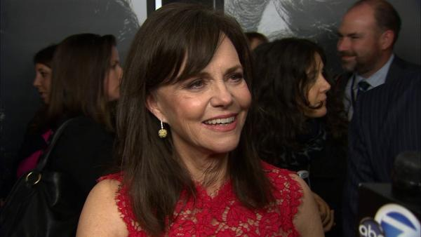 Sally Field talks to OTRC.com at the premiere of 'Lincoln' at Grauman's Chinese Theatre during AFI Fest in Hollywood on Nov. 8, 2012.