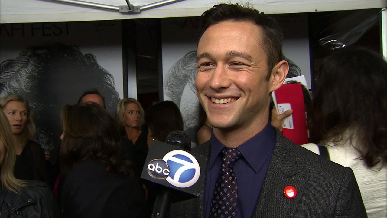 Joseph Gordon-Levitt talks to OTRC.com at the premiere of Lincoln at Graumans Chinese Theatre during AFI Fest in Hollywood on Nov. 8, 2012.