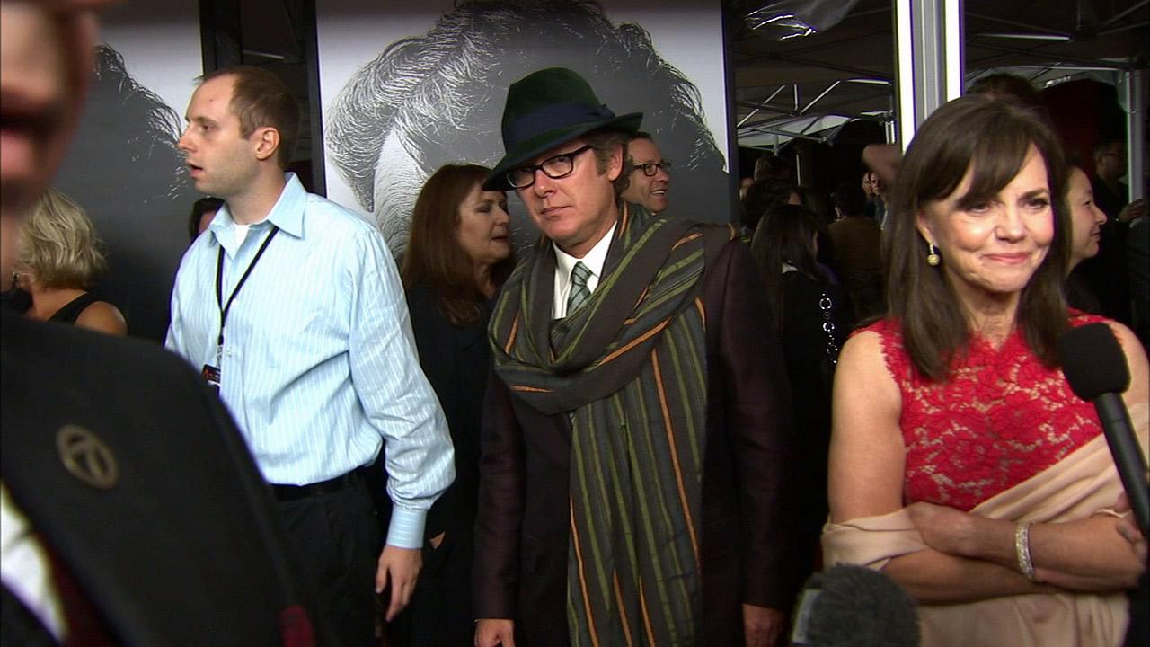 James Spader and Sally Field appear at the premiere of Lincoln at Graumans Chinese Theatre during AFI Fest in Hollywood on Nov. 8, 2012.