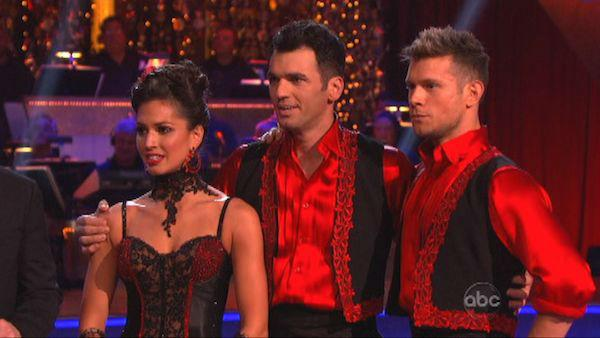 Melissa Rycroft and Tony Dovolani appear in a still from 'Dancing With The Stars: All-Stars' on November 12, 2012.