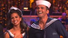 Melissa Rycroft and Tony Dovolani appear in a still from Dancing With The Stars: All-Stars on November 12, 2012.  - Provided courtesy of ABC / OTRC
