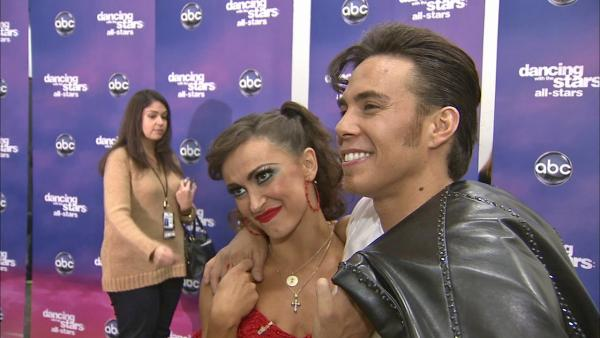 Karina Smirnoff talks Apolo Anton Ohno, 'DWTS' week 8