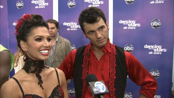 Melissa Rycroft, Tony Dovolani talk 'DWTS' week 8