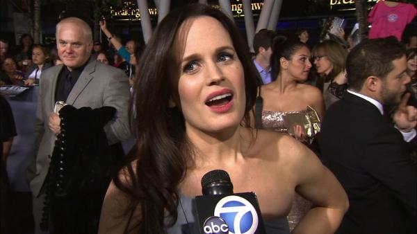 Elizabeth Reaser at 'Breaking Dawn 2' premiere