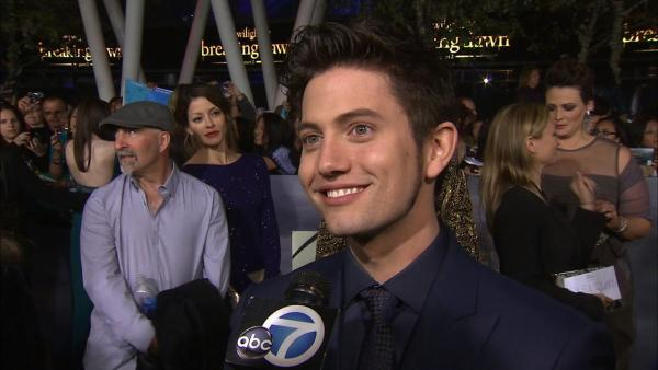 Jackson Rathbone talks 'Breaking Dawn 2' at premiere