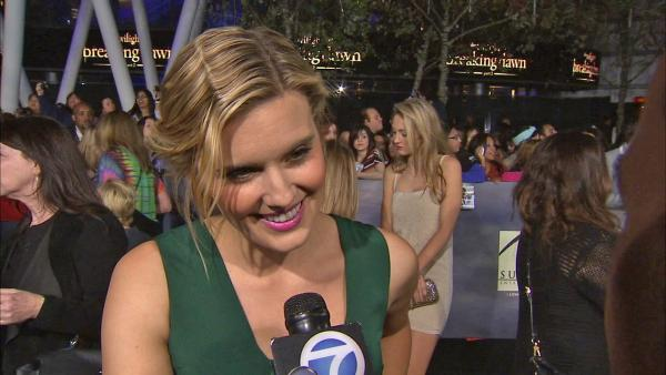 Maggie Grace at 'Breaking Dawn 2' premiere