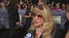 Stevie Nicks talks to OTRC.com at the premiere of Twilight: Breaking Dawn - Part 2 at the Nokia Theatre L.A. Live in Los Angeles on Nov. 12, 2012. - Provided courtesy of OTRC