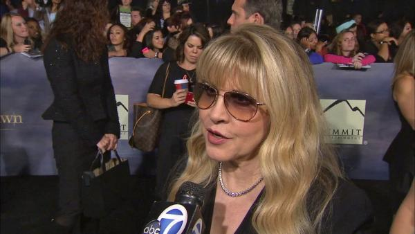 Stevie Nicks talks being a 'Twilight' fan