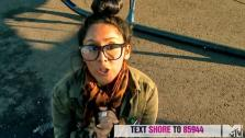 Snooki appears in an MTV video urging fans to take part in the cast of Jersey Shores live benefit event, Restore the Shore, which airs on November 15. - Provided courtesy of MTV