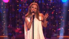 Kylie Minogue performed on Dancing With The Stars: The Results Show on November 13, 2012. - Provided courtesy of ABC