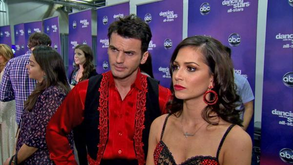 OTRC: Melissa Rycroft, Tony Dovolani talk 'DWTS' double elimination
