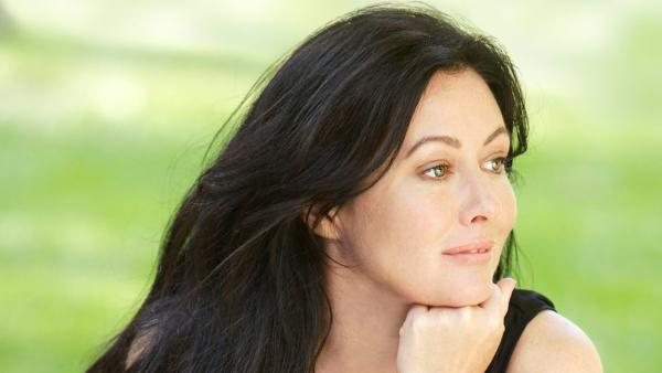 Shannen Doherty appears in a publicity photo for the 2012 WE tv reality series Shannon Says. - Provided courtesy of Chris Ragazzo / WE tv