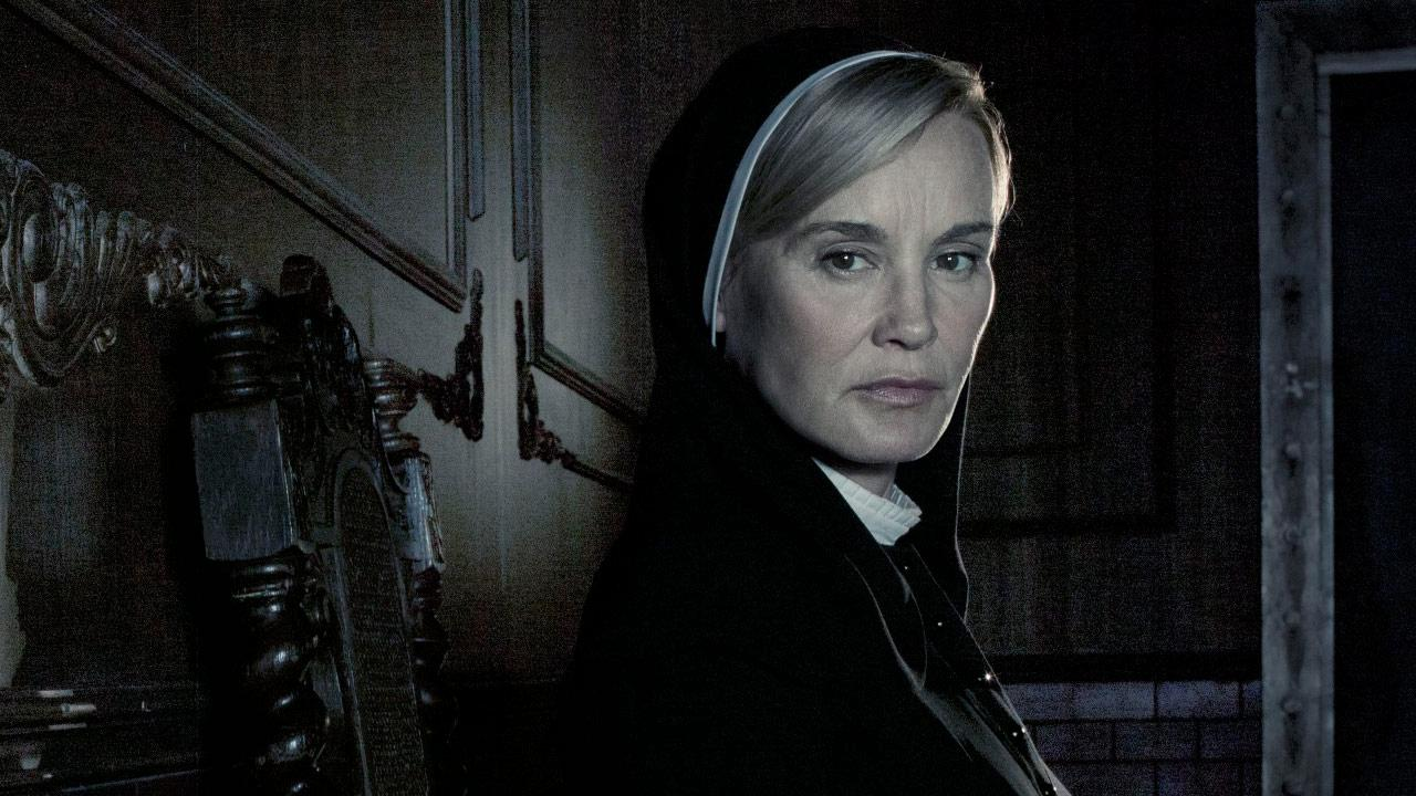 Jessica Lange appears in an undated promotional photo for American Horror Story: Asylum in 2012.