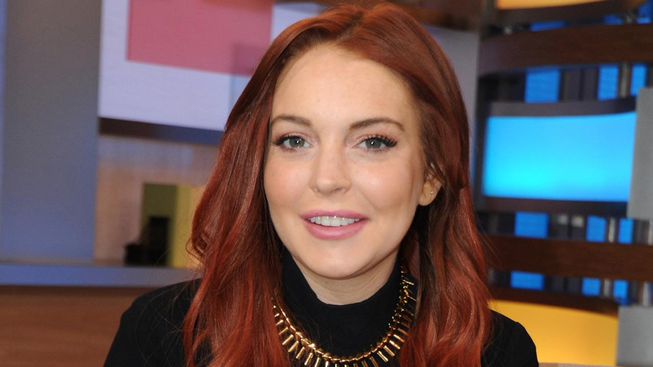 Lindsay Lohan appears on ABCs Good Morning America (GMA) on Nov. 16, 2012.