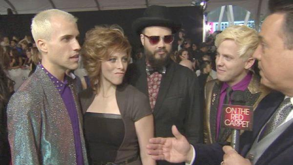 Neon Trees talks American Music Awards