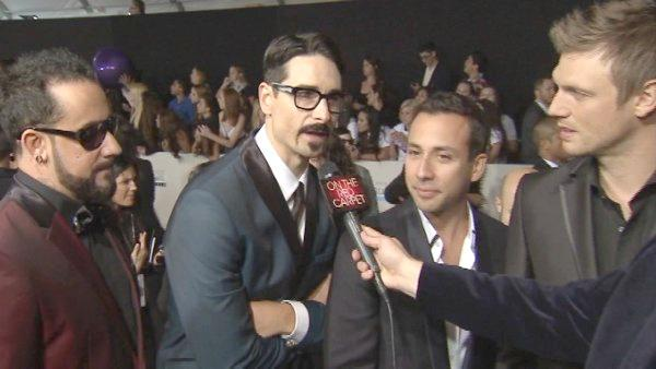 Backstreet Boys talk American Music Awards