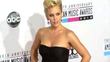 Jenny McCarthy poses on the red carpet at the 2012 American Music Awards (AMAs) in L.A. on Nov. 18, 2012. - Provided courtesy of none / OTRC