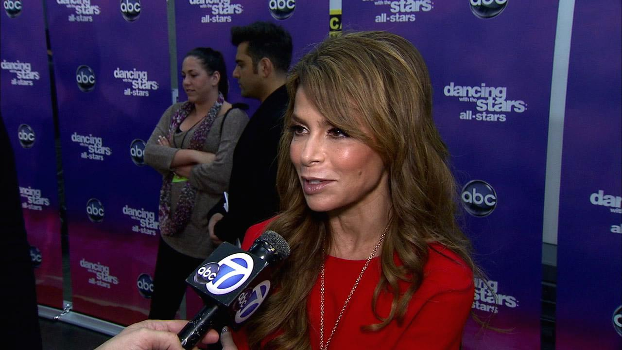 Paula Abdul talks to OTRC.com after the November 19, 2012 episode of Dancing With The Stars.