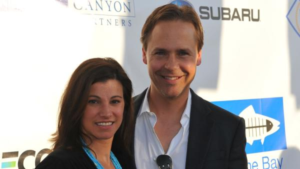 Chad Lowe and Kim Painter appear at the 'Bring Back the Beach' event by Heal The Bay on May 20, 2010.
