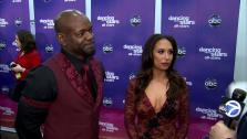 talk to OTRC.com after the Nov. 20, 2012 episode of Dancing With The Stars. - Provided courtesy of ABC