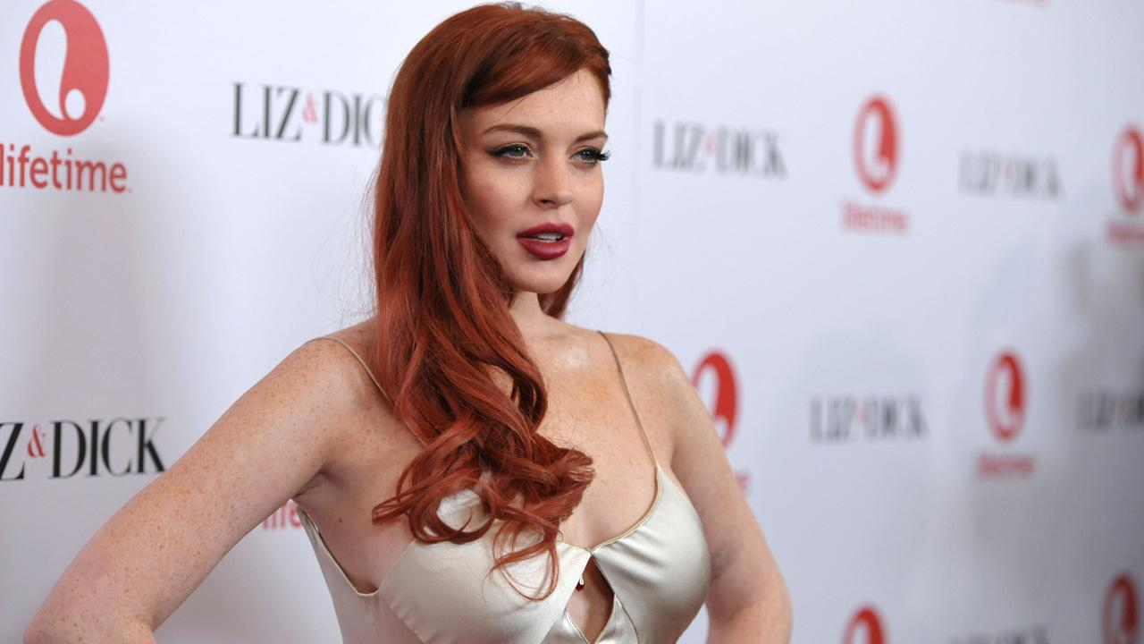 Lindsay Lohan attends a dinner celebrating the premiere of Liz and Dick at the Beverly Hills Hotel on Tuesday, Nov. 20, 2012, in Beverly Hills, Calif.