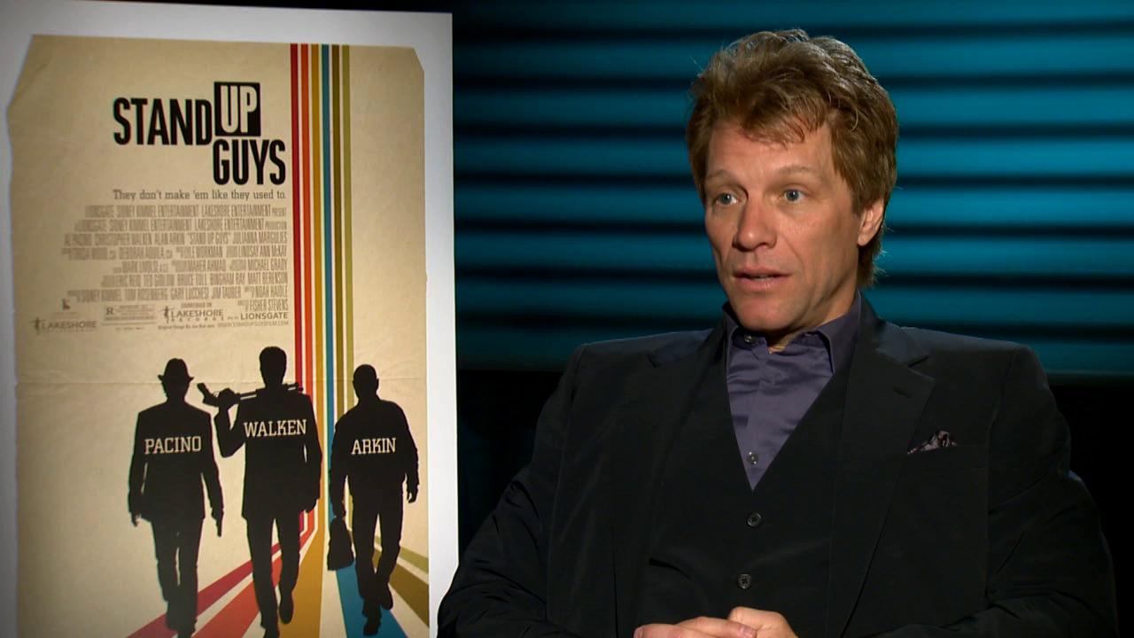 Jon Bon Jovi talks to OTRC.com about the 2012 movie Stand Up Guys.