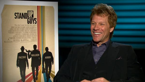 Bon Jovi talks acting, 'Stand Up Guys,' Sandy