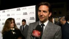 Bradley Cooper talks to OTRC.com at the premiere of Silver Linings Playbook on Nov. 19, 2012.