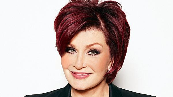 Sharon Osbourne appears in a 2012 publicity photo for the CBS daytime show 'The Talk.'