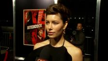 Jessica Biel talked to OTRC.com about her role in the 2012 thriller Hitchcock on November 20, 2012. - Provided courtesy of none / OTRC