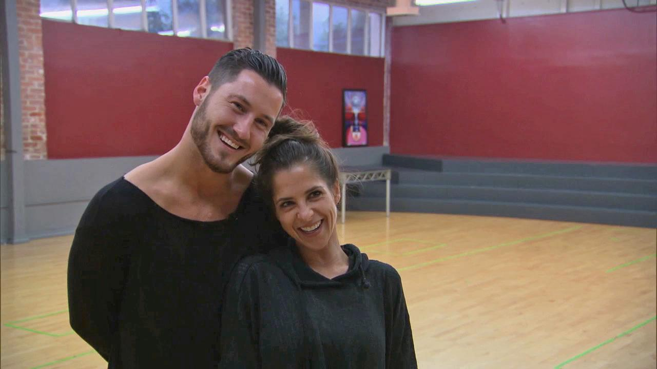Kelly Monaco and Valentin Chmerkovskiy talk to ABC in November 2012 for Dancing With The Stars.