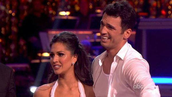 Melissa Rycroft and Tony Dovolani appear in a still from Dancing With The Stars: All-Stars on November 26, 2012. - Provided courtesy of ABC / OTRC