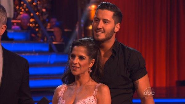 'General Hospital' actress Kelly Monaco and her partner Valentin Chmerkovskiy received 29.5 out of 30 points from the judges for their Freestyle on 'Dancing With The Stars: All-Stars,' which aired on November 26, 2012.