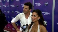 Melissa Rycroft and Tony Dovolani talk to OTRC.com after the November 26, 2012 episode of Dancing With The Stars. - Provided courtesy of OTRC