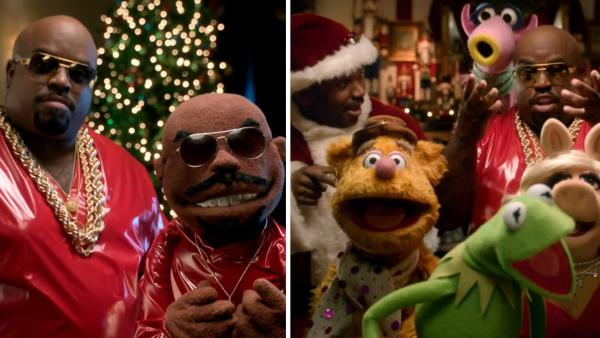 Cee Lo Green, Craig Robinson and The Muppets appear in Greens 2012 music video All I Need Is Love. - Provided courtesy of Marc Klasfeld / Criterion Music Corp. / The Muppets Studios, LLC