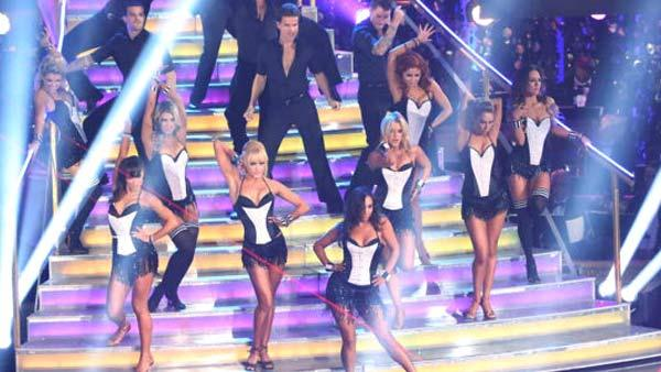 The cast of season 15 returned to the ballroom for the Dancing With The Stars: All-Stars finale on November 27, 2012. - Provided courtesy of ABC / Adam Taylor