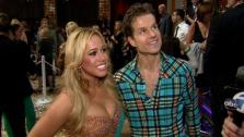 Sabrina Bryan and Louis Van Amstel talk to OTRC.com after the Dancing With The Stars: All-Stars finale on November 27, 2012. - Provided courtesy of OTRC
